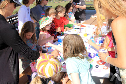 highland deschutes county schools art day
