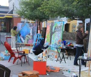 Painting marathon