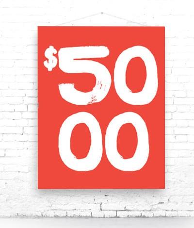 DONATE 5000